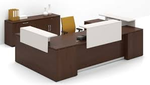 u shaped reception desk morpheo 144 u shaped reception desk shell with elevated transaction