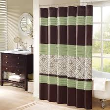 Purple And Brown Shower Curtain Madison Park Shower Curtains U0026 Bath Sets Designer Living