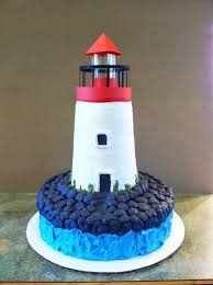 lighthouse cake topper party cakes lighthouse cake
