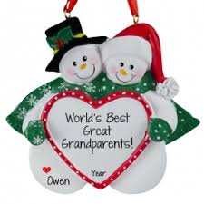 grandparent christmas ornaments great grandparents christmas ornaments gifts