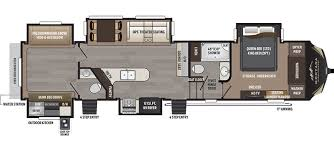 5th Wheel Rv Floor Plans Montana High Country