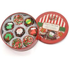 belgian chocolate christmas cookie gift gift baskets plus