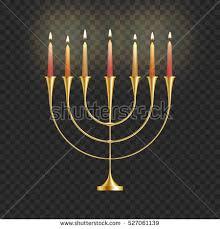 menorah candles stock vector illustration hanukkah menorah candles stock vector