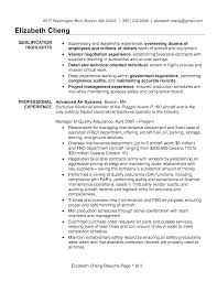 Resume Job Summary by Best Solutions Of Sample Resume Quality Assurance On Job Summary