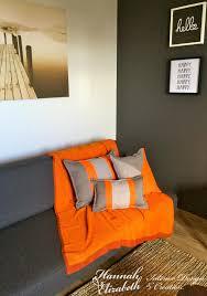 coussins orange beautiful salon beige et blanc 5 coin salon gris et orange