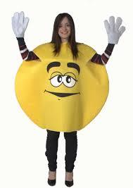 m m costume yellow m and m m m chocolate sweetie foam costume co uk