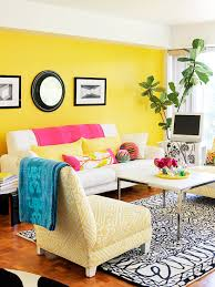 yellow livingroom decor in a day easy decorating projects colorful living rooms