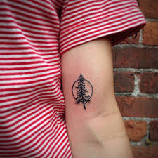 photos of mystical pine tree tattoos 02 wall4k com
