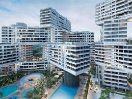 singapore apartments this singapore apartment complex was just voted the best new