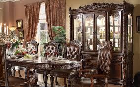 dining room set with china cabinet a u0026j homes studio vendome china cabinet wayfair