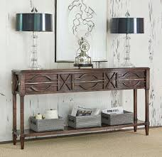 Distressed Sofa Table by Spindle Distressed Console Table Western Sofa Tables Made Of