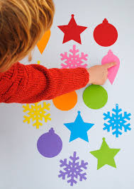 simple christmas tree decorations for kids templates minieco