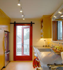 10 the magnificent shades of interior red doors decpot fabulous small kitchen color design with red framed glass slide interior door also with yellow storage