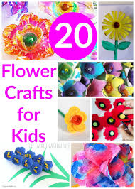 20 flower crafts for kids beautiful spring and flowers