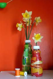Personalized Flower Vases Diy Mothers Day Gift Repurposed Flower Vase
