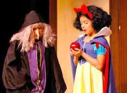 snow white easy play script for to perform