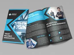 two fold brochure template psd bifold brochures bi fold brochure templates psd elegantflyer bf