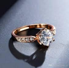color wedding rings images Engagement rings for women rose gold color wedding rings female jpg