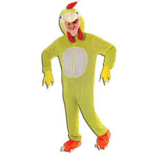 chicken fancy dress costume big head