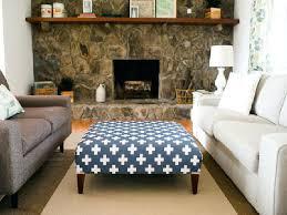 upholstered coffee table ottoman u2013 thelt co