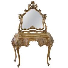 Vanity In Italian 20th Century Italian Polychrome Vanity In The Rococo Style At 1stdibs