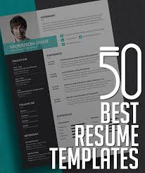 best resume templates 50 best resume templates design graphic design junction