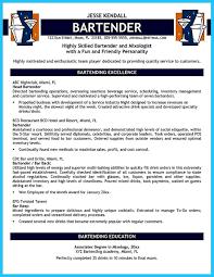 bartending resume exle bartendending responsibilities resume sle and bartending resume