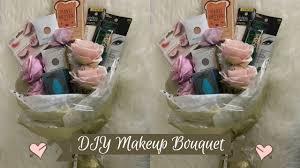 Bouquet Diy Diy Makeup Bouquet Youtube