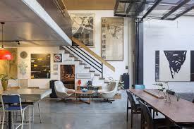 chic industrial warehouse in australia offers sleek urban living
