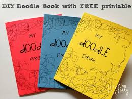 hi it u0027s jilly diy doodle book with free printable
