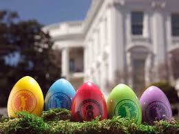 eco easter eggs 2012 white house souvenir easter eggs are fsc certified inhabitots