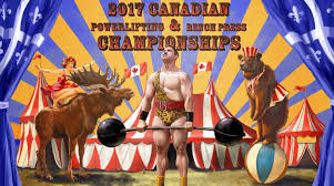 2017 canadian powerlifting u0026 bench press championships on livestream