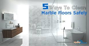 5 ways to clean marble floors safely squeak clean