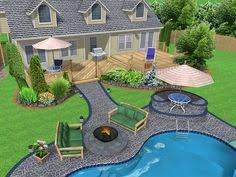 Landscaping Around A Pool by Above Ground Pool Landscaping Aqua Blue Pools U0026 Spas No Longer