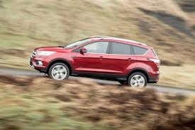 ford kuga review pictures ford kuga 2017 front tracking