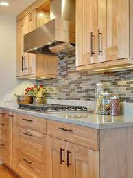 Light Oak Kitchen Cabinets What S So Trendy About Light Wood Cabinets In Kitchen That