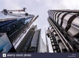 london uk march 29 2017 the futuristic lloyds building