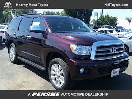 suv toyota sequoia 2017 new toyota sequoia platinum 4wd at kearny mesa toyota serving