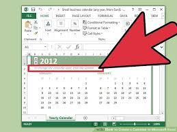 how to create a calendar in microsoft excel with pictures
