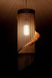 Table Lamp Shades by Best 25 Wooden Lampshade Ideas On Pinterest Paper Lampshade