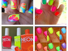 how to make your neon nailpolish brighter snapguide