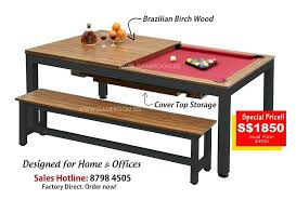 coffee tables that turn into tables turn pool table into dining table to turn this pool table into a