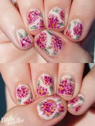 floral inspired nail art for girls fashion u0026 trend