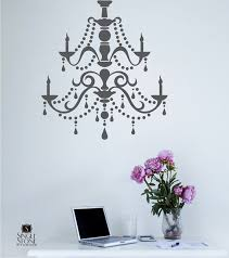 Chandelier Wall Decal 188 Best Wall Decals At Etsy Images On Pinterest Fast Clean