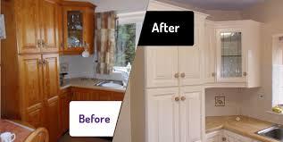 Kitchen Cabinet Spray Paint Very Attractive  Painting Cabinets - Kitchen cabinet repainting