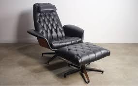 Ottoman Chair Mid Century Modern George Mulhauser Plycraft Mr Chair Bentwood