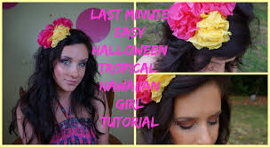 Hawaiian Halloween Costume Easy Tropical Hawaiian Halloween Minute Halloween