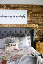 Diy Bedroom Accent Wall Diy Wood Planked Accent Wall Love U0026 Renovations