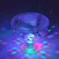 led disco ball light aquarium glow led water floating disco ball light show swimming pool