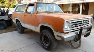 Auto Upholstery Fresno Ca 1974 Dodge Ramcharger 318ci V8 Auto For Sale In Fresno Ca